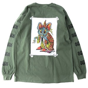 Magical Mouse longsleeve shirts M.GREEN