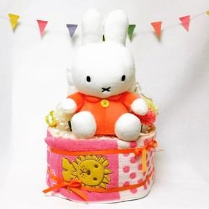 【miffy】ぬいぐるみ付おむつケーキ