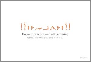 メッセージカード⑤(5枚セット)