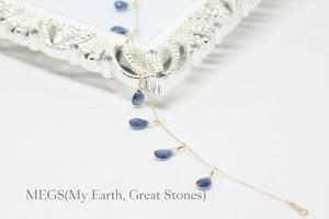 【9月誕生石】  Blu scuro『深青 SHINSEI』ブレスレット【K10 サファイア】