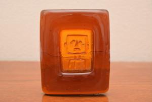 ボダエリック・ホグランアッシュトレイ・ペーパーウエイト(ロボット オレンジスクエア)【BODA/Erik Hoglund】北欧 食器・雑貨 ヴィンテージ | ALKU