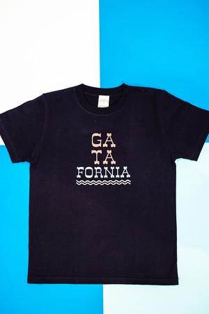 【SALE !!】キッズサイズ GATAFORNIA Tシャツ ネイビー