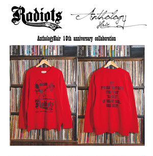 [予約商品] RADIOTS×AnthologyHair  L/S SWEAT / RED...