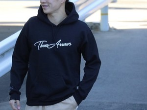 ThreeArrows パーカー(black)