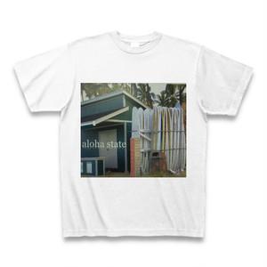 フォトグラフTシャツ(aloha state)