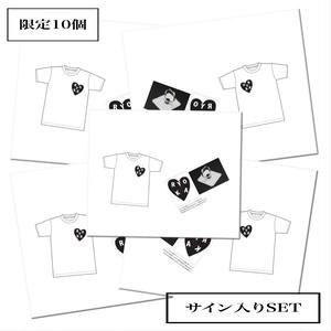 大島涼花〜【サイン付き】Ryoka20限定Tシャツ&アイリングSET〜【限定10個】