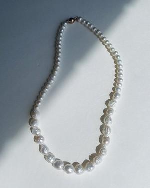 Combination Pearls Necklace / 45cm