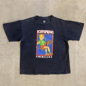 "90's ""The Offspring"" AMERICANA Band T-Shirt"