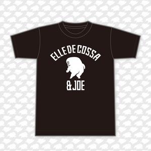 カレッジ-Tシャツ / 色:ブラック