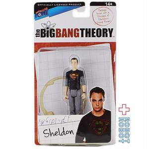 ビッグバンセオリー ブラックスーパーマンTシャツ着用 シェルドン フィギュア