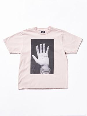 DUST Hand Tee Pink ST1EGOP