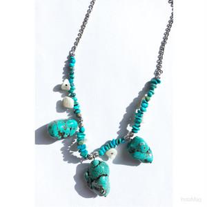 N73天然石●ボヘミアン●ネックレス