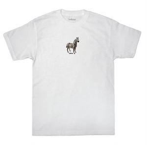 LURK NYC ZEBRA S/S TEE WHITE