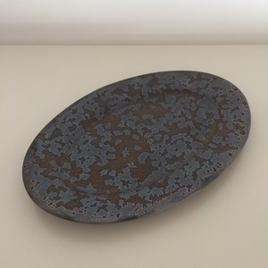 ONE KILN CERAMICS / oval plate S
