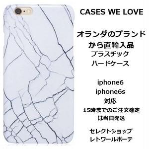Cases we love ケイシーズウィラブ オランダ ivory marble iphone 6 6s case 大理石柄 マーブル アイフォン シックス ケース 海外 ブランド