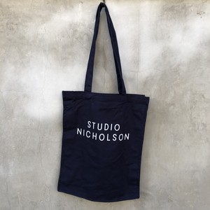 "STUDIO NICHOLSON  ""cotton canvas the small tote"""