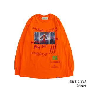 Asuka Langley Shikinami-Test Plug Suit L/S Tee (ORANGE)  /  RADIO EVA