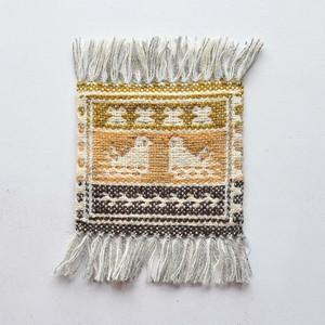 コースター ヤノフ村の織物 (18)