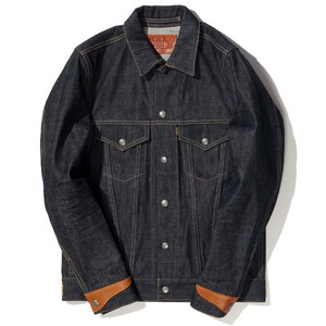 Road Jack-1 DENIM JKT (INDIGO) / RUDE GALLERY BLACK REBEL