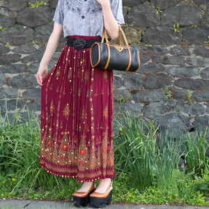 USA VINTAGE SKIRT MADE IN INDIA/アメリカ古着スカート