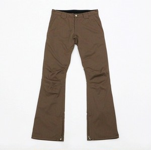 Flutter Slim Fit Pants / Brown