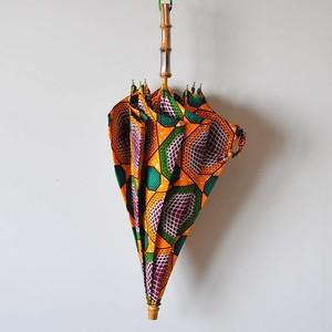 Bon Bon Store アフリカンバティック日傘(D)