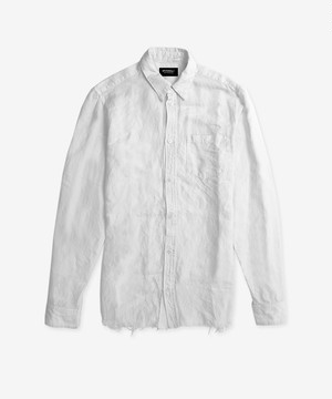 CRASHED SHIRT IVORY