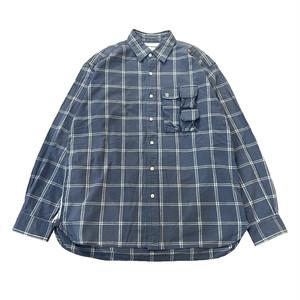 【used】GENERAL RESEARCH 90s パラサイト チェックシャツ ジェネラルリサーチ