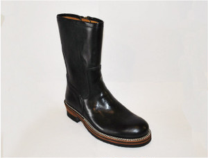 【High Line】ZIP ENGINEER BOOTS TENPESTI BLACK GR-KE318