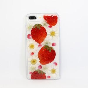 【6/6s/7/8Plus対応】押し花iPhone case