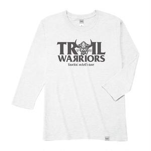 【在庫限りで販売終了】Tri Brend 3/4 Sleeve T-Shirt / TW / White