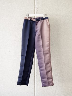 【予約アイテム】disemBySiiK GRADATION TROUSERS navy-beige