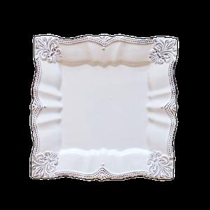 square dish / スクエア レースディッシュ 19cm