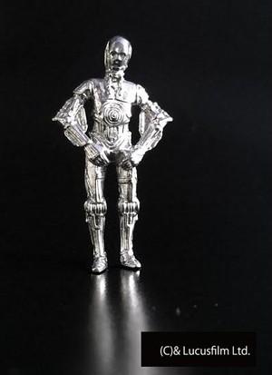 【スター・ウォーズ/ジュエリー】C-3PO(シルバー)