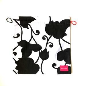 北欧デザイン 巾着 | matthew black & white