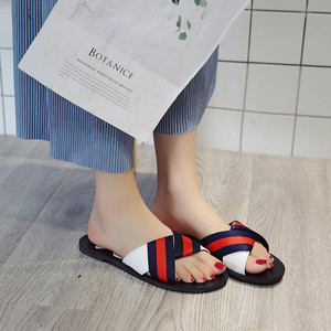 【sandal】Chic  2018 new  Korean summer fashion casual beach sandal