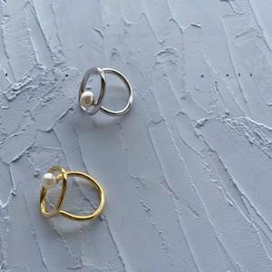 Circle Pearl Ring|サークルパールリング|#SP0222【STELLAPARK】