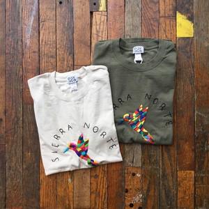 Oaxaca / Hand embroidery Tee shirt