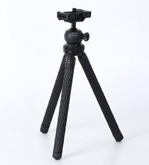 【新品】BECKS(ベックス) 小型三脚 8段 CoCo7 (ココセブン) STP-201 BK ブラック