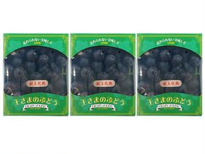 王さまのぶどう(種あり巨峰)700g(2~3房)×3箱