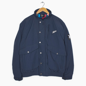 by Parra - nylon jacket flapping flag (Navy Blue)