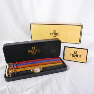 FENDI Belt Change Belt Watch -Dead Stock!-
