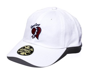 2019 RAKUGAKI HEARTS Logo Dad Cap White