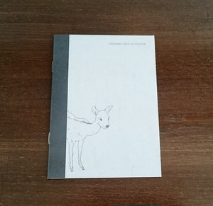 seikosketch MIYAJIMA DEER NOTEBOOK