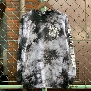 LEFLAH / レフラー | 《予約受付中》G-SPRAY LOGO TIE DYE LS-T / White