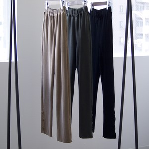 THE NERDYS / STRETCH waffle pants[CAMEL / OLIVE / BLACK]