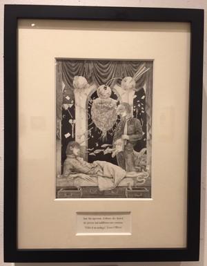 渡邊光也「類推のワルツ」22.7×15.8cm ケント紙に鉛筆、顔料