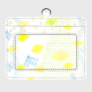 V1「泳ぐレモンと飛ぶさかな」パスケース