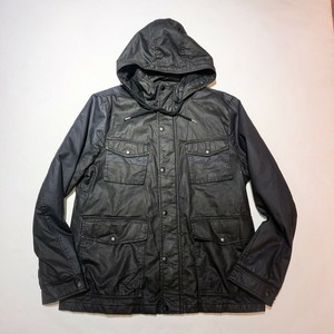 Calvin Klein rubber processing 4 poket  jacket