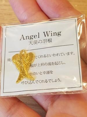 チャーム 天使の羽根 ★500